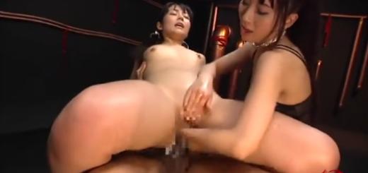 レズ女王様のフィストファック調教に絶頂するドM美女奴隷!【SM無料動画】