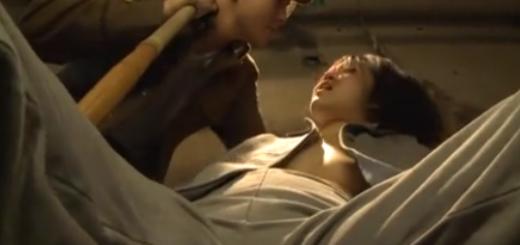 鉄格子の中で看守に暴行される女囚人!陵辱の中出しバック突き!【SM無料動画】