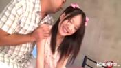 激カワなパイパン美少女をイラマチオ!ベッドに両手拘束してバック突き強制フェラ責めで苦痛な表情!(あべみかこ)【SM無料動画】