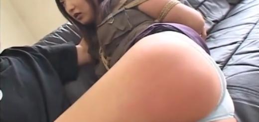 緊縛願望の強いM女を縛り上げてスパンキング&ローター責め!【SM無料動画】