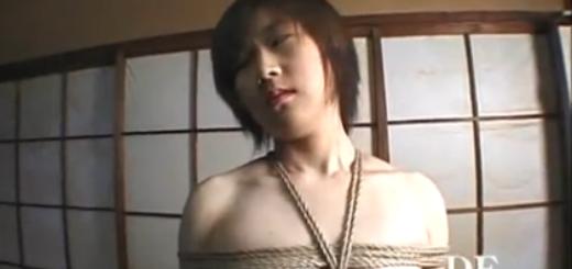 緊縛拘束されながらMに目覚めていく色白美少女!(笠木忍)【SM無料動画】