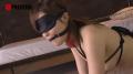 目隠し首輪をつけたメス犬に強制フェラ肉便器調教!【SMエロ動画】