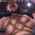 緊縛・磔にした爆乳M女にイラマチオ!【SMエロ動画】