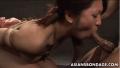 緊縛拘束された美少女が強制フェラバック突き肉便器調教に泣き顔の美少女!【SMエロ動画】