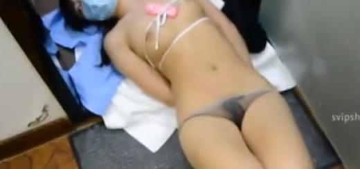 婦警コス中国人美少女の手足を縛ってローター責め放置プレイ!【SMエロ動画】