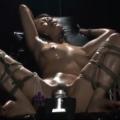 【友田真希】拘束椅子に固定されたM女が強制M字開脚の股間に電動バイブを固定されて快楽責めに悶える放置プレイ!【SMエロ動画】