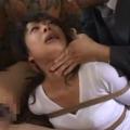 寝取られ願望のある夫に緊縛された奴隷調教済みの妻がストーカー男に強制フェラ!【SMエロ動画】