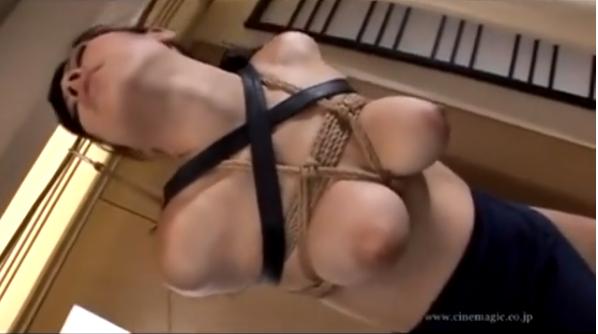 【常磐エレナ】緊縛拘束したM女の巨乳おっぱいにニップルクリップつけてマゾ調教!【SMエロ動画】