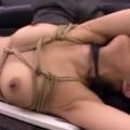 社長室で緊縛拘束されて絶対服従マゾ調教される美人秘書!【SM無料動画】