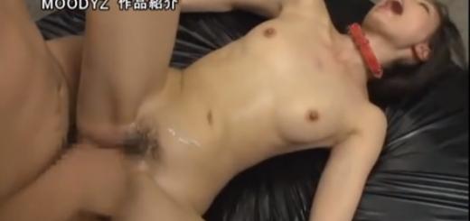 【西田カリナ】集団レイプ肉便器調教中出しSEXに絶叫する首輪をつけたM女!【SMエロ動画】